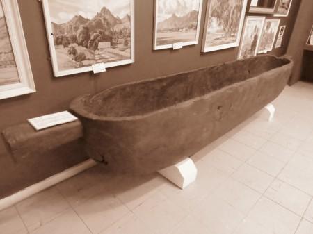 Canoa usata per il cibo