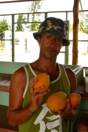 Che buona la papaia di qui