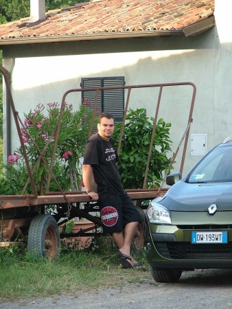 08_Josh_and_our_car