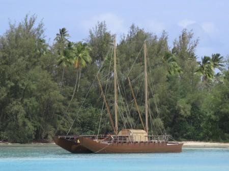 Boat at Muri Lagoon