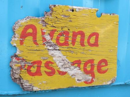 Avana passage at Muri Beach