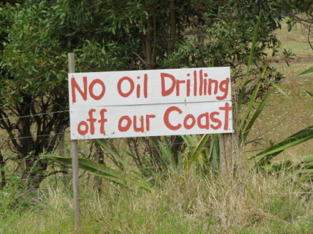 No trivellazioni per il petrolio a largo della costa