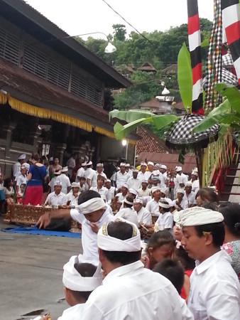 In attesa della Bali Barong Dance