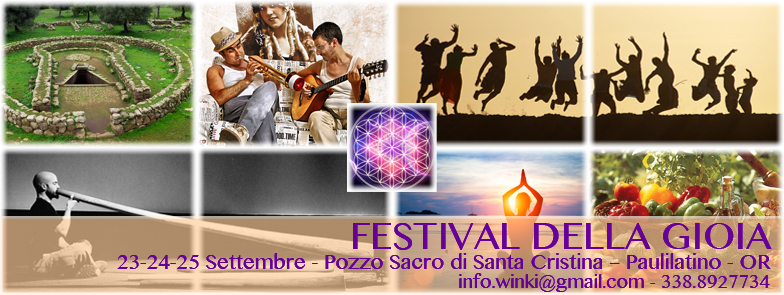 Seminari – workshop – rituali – Festival della Gioia