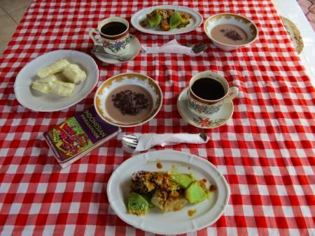 Breakfast al Bukit Artha di Sidemen
