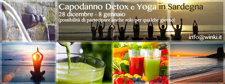 Capodanno Detox e Yoga in Sardegna