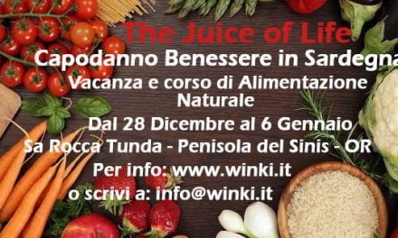 The Juice of Life – Capodanno Benessere in Sardegna