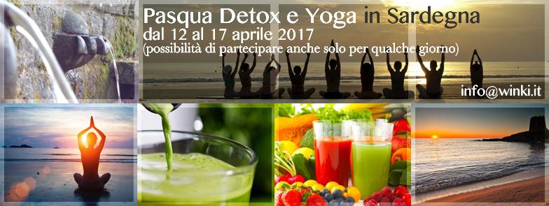 Detox & Yoga a Pasqua in Sardegna