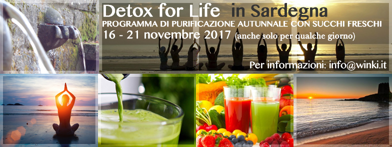 Detox  for Life & Yoga in Sardegna
