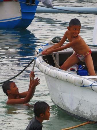 I bambini di Padang Bai