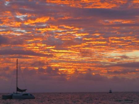 I colori del Western Australia al tramonto