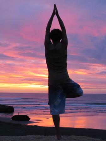 Yoga dopo il tramonto