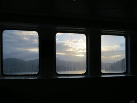 L'Isola del Sud dagli oblò del traghetto