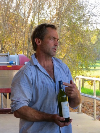 Mick Scott di Roselyn Winery - Margaret River