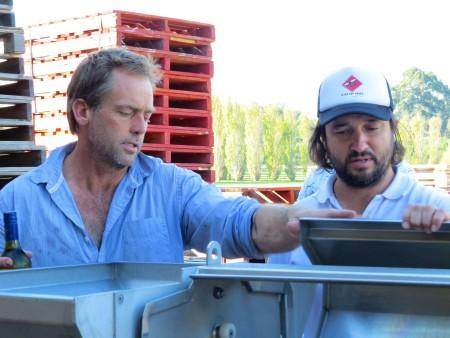 Mick e John ci raccontano le fasi della lavorazione