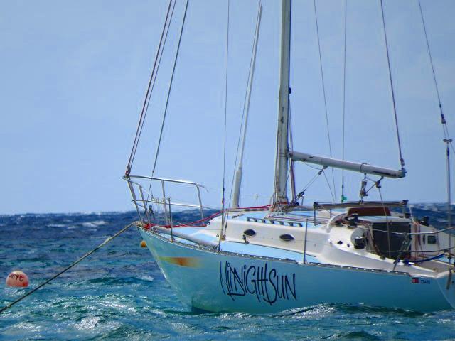In barca a vela in Western Australia