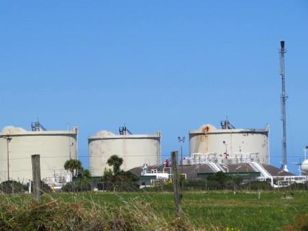 Monumento nazionale raffinerie a Taranaki