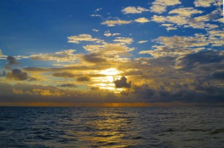 Quasi al tramonto