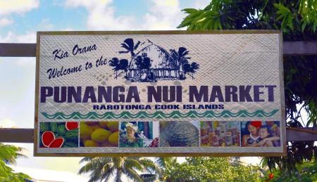 Rarotonga market