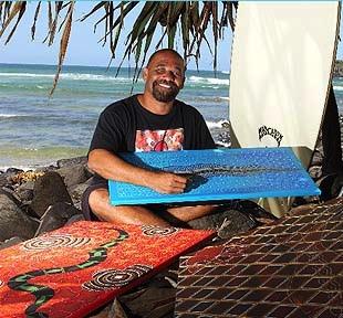 Scott Rotumah – Artista aborigeno