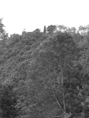 Sembrava vicino il tempio in cima alla montagna