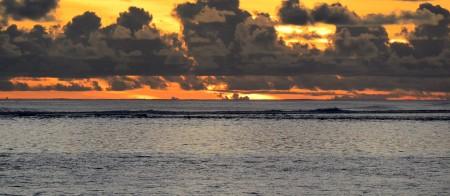 Sunset ad Rarotonga