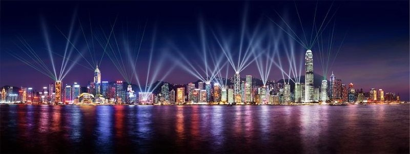 HK light show