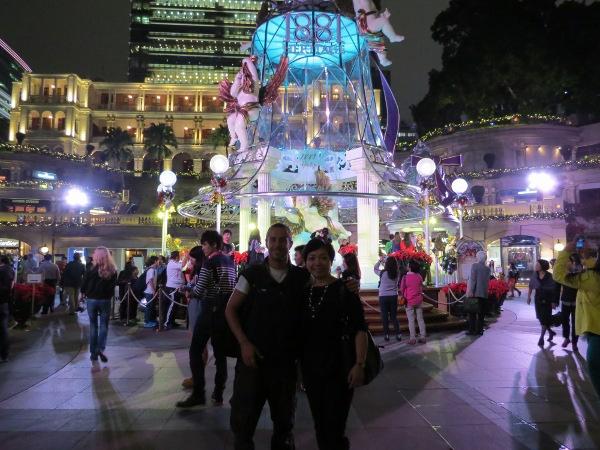 HK with Lorraine