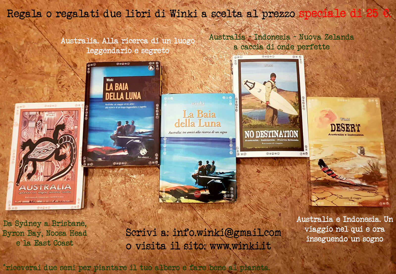 Two books, two trees – i libri di Winki fanno bene al pianeta